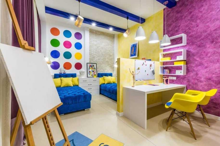 Детская комната 11 кв. м. — примеры идеальной планировки, зонирования и современного дизайна (90 фото идей)