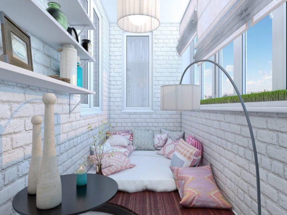 Дизайн балкона 2021 года — современные решения планировки и зонирования (130 фото идей)