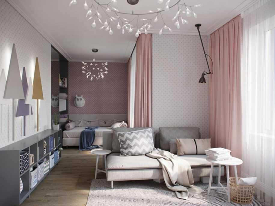 Дизайн детской комнаты 17 м² — обзор лучших идей планировки и зонирования (117 фото новинок)