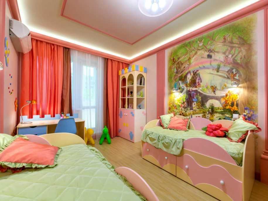 Ремонт детской комнаты своими руками — 125 фото идей и примеров современного дизайна комнаты для мальчика и девочки