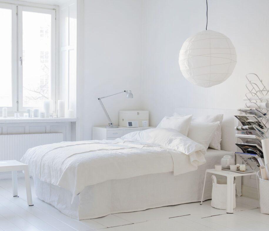 Белая спальня: хитрости удачного сочетания и оформления дизайна в белых тонах (95 фото)