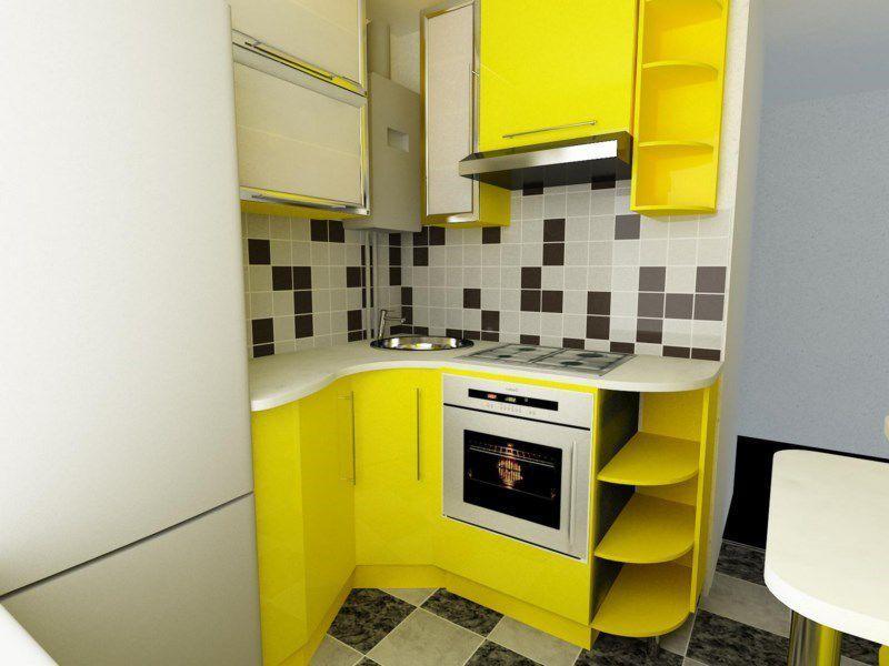 Дизайн кухни 6 кв. м. — лучшие варианты планировки и оформления дизайна в маленькой кухне (100 фото)