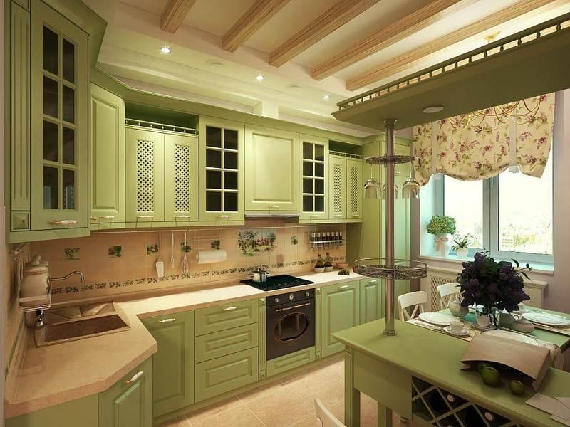 Дизайн кухни — 110 фото красивого оформления и сочетание интерьера кухни по цвету и стилю