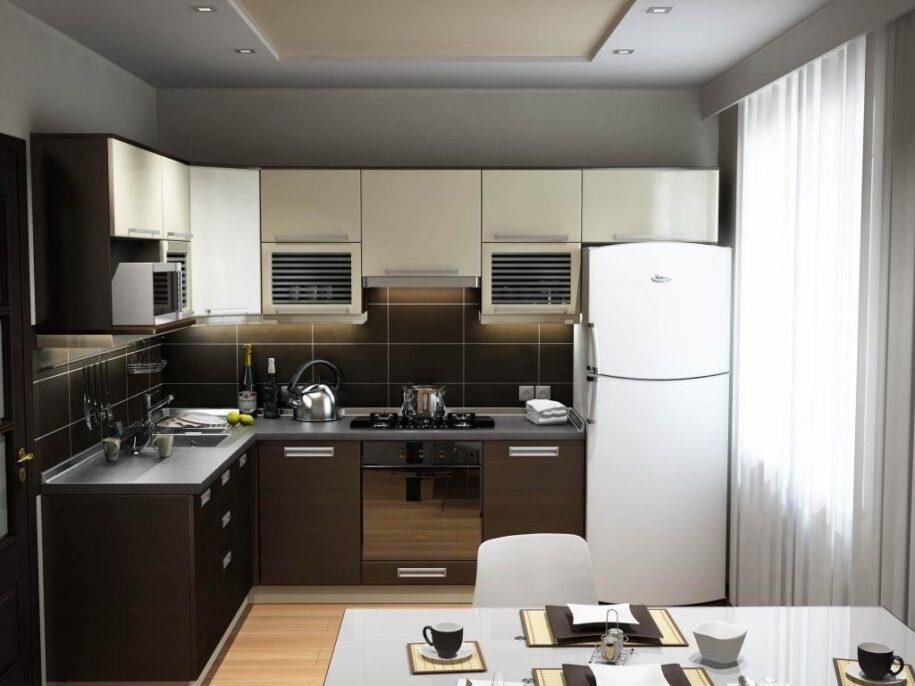 Дизайн маленькой кухни: лучшие идеи планировки и зонирования. 135 фото вариантов создания функционального интерьера в кухне