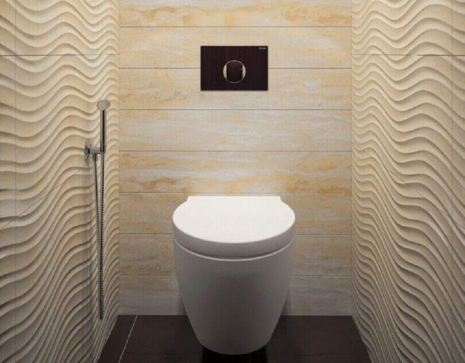 Дизайн туалета 2021 года: модные тенденции и новинки дизайна (200 фото)