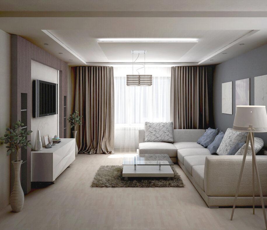 Гостиная в квартире: современные интерьерные решения по оформлению дизайна (120 фото новинок)