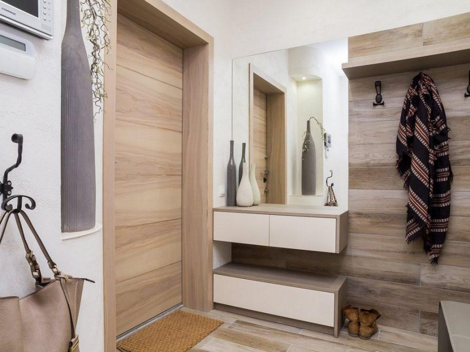 Дизайн интерьера прихожей 2021 года — красивые, а также современные варианты оформления и сочетания интерьера в прихожей (90 фото)