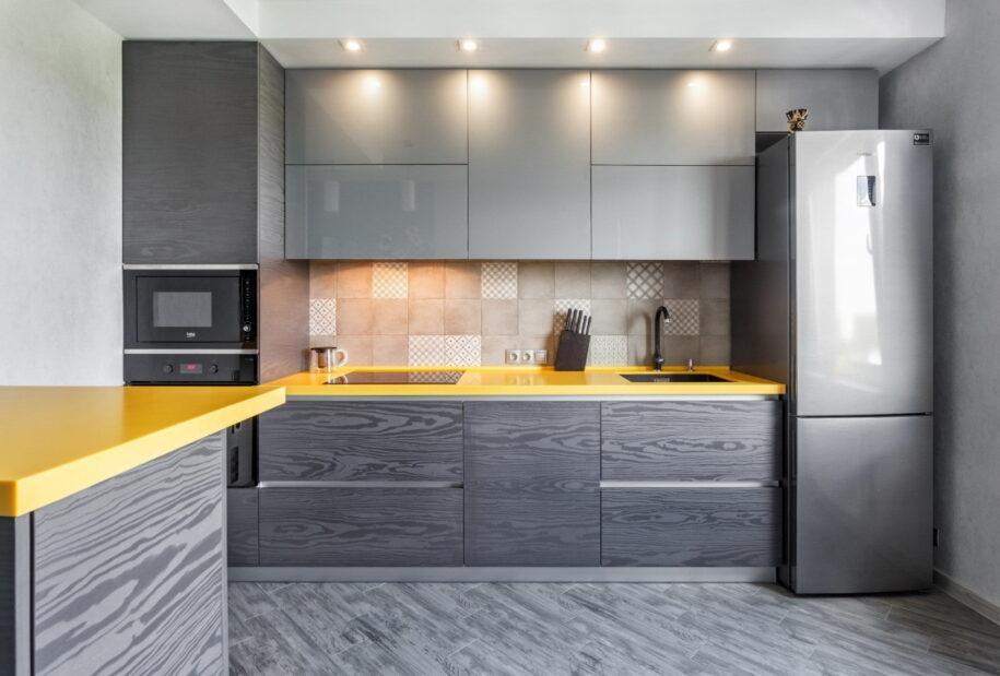 Серая кухня — эксклюзивные идеи для сочетания серых оттенков в интерьере кухни. 120 фото оригинального дизайна
