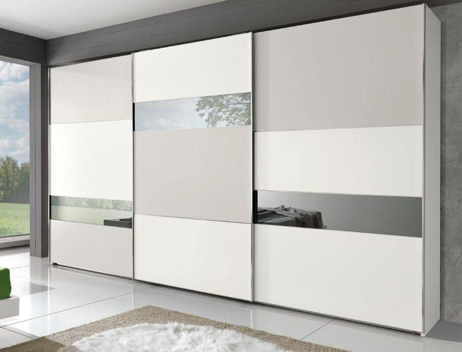 Шкаф-купе в спальню: варианты красивого размещения и сочетания в интерьере спальни