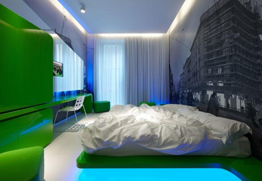 Современная спальня: красивый у уютный дизайн с идеальной планировкой и зонированием спальни (98 фото)
