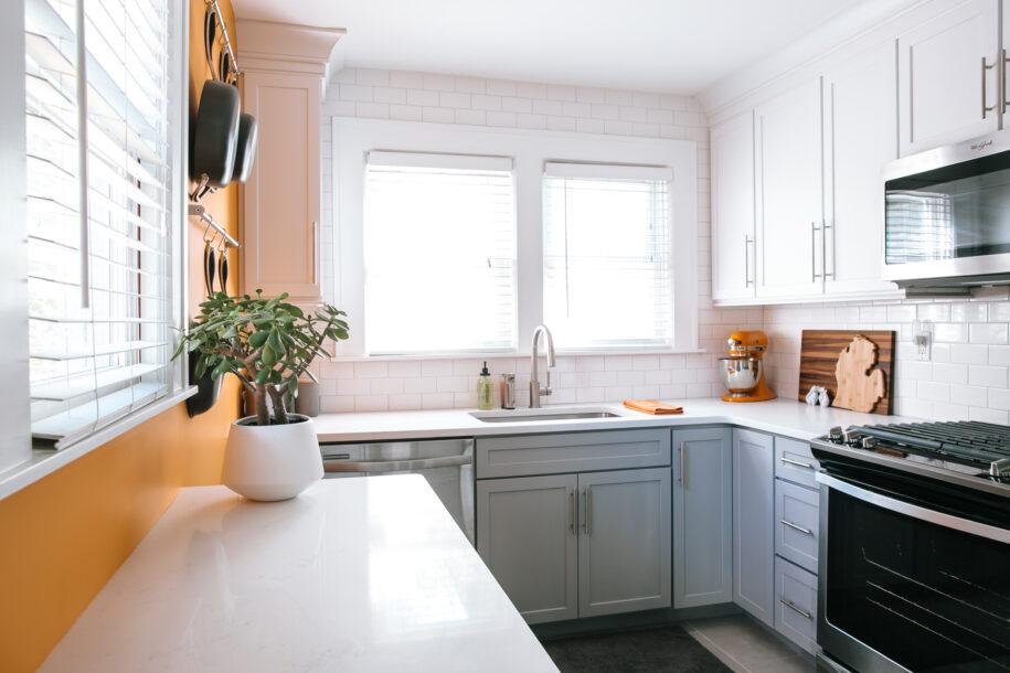 Угловая кухня: варианты идеальной планировки и функционального зонирования кухни. (100 фото дизайна)