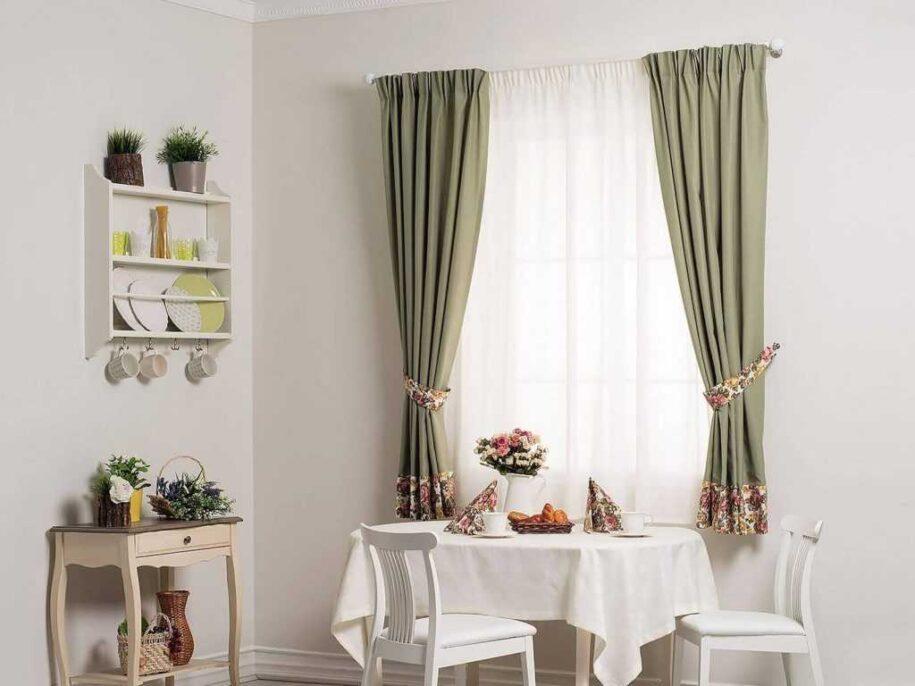 Занавески на кухню: фото красивого оформления и необычного сочетания штор в интерьере современной кухни