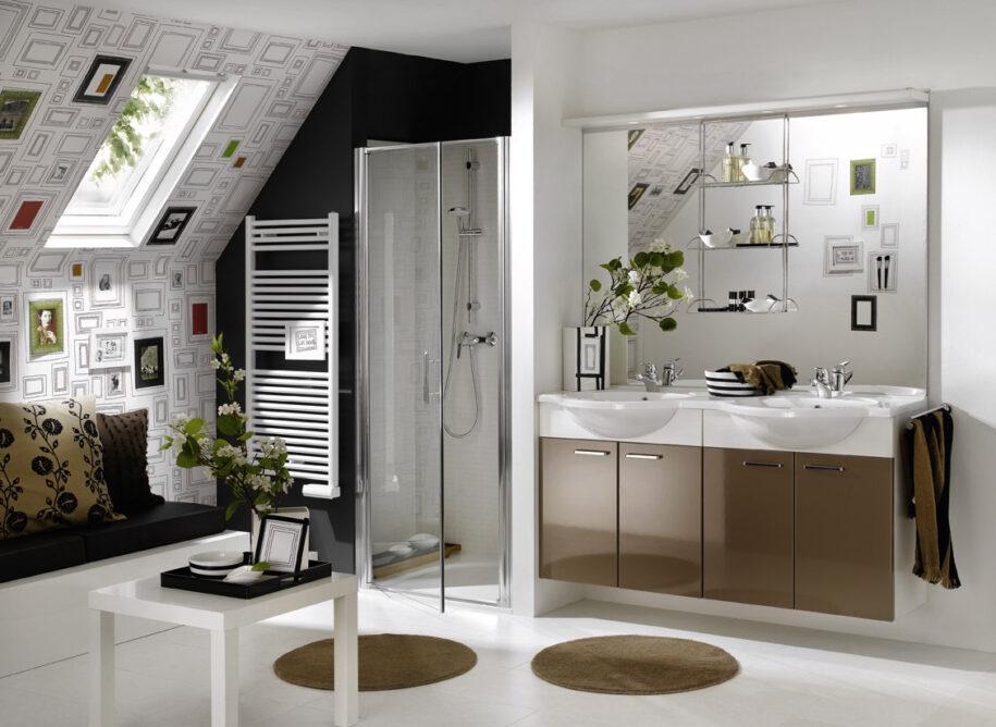 Аксессуары для ванной комнаты: полный список всех вариантов. Примеры размещения и дизайна (100 фото)