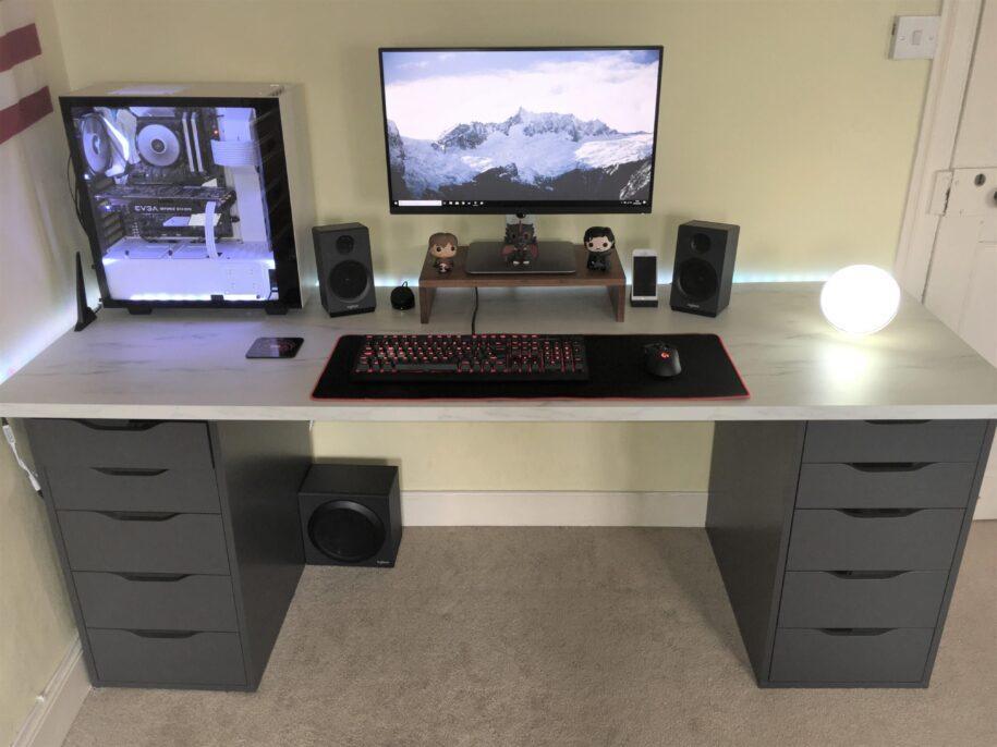 Компьютерные столы: обзор современных моделей и новинок дизайна (105 фото)