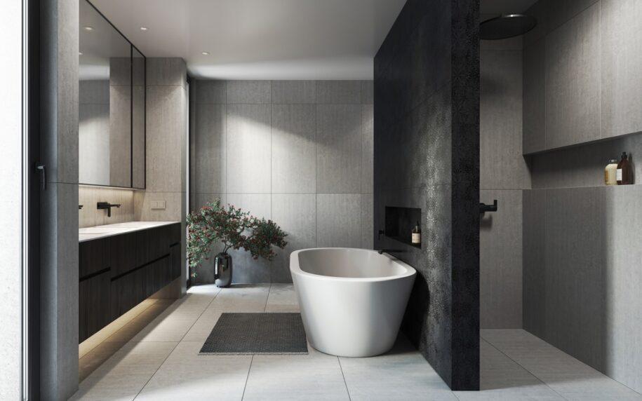 Современная ванная комната: модные тенденции оформления и сочетания. ТОП-100 фото новинок дизайна!