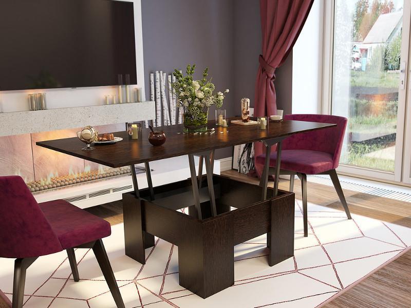 Стол-трансформер: особенности, конструкция, размеры, фото новинок дизайна, цвет, стиль, выбор материала