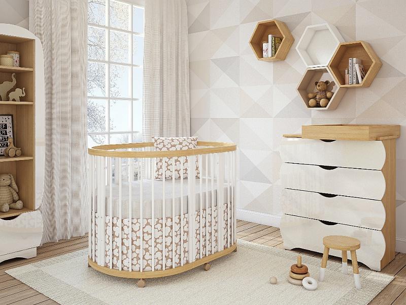 Детские кроватки: новинки дизайна, выбор размера, производители, стиль, обзор лучших моделей + 135 фото
